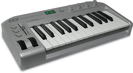 ESI Keycontrol 25 XL USB MIDI kontroller