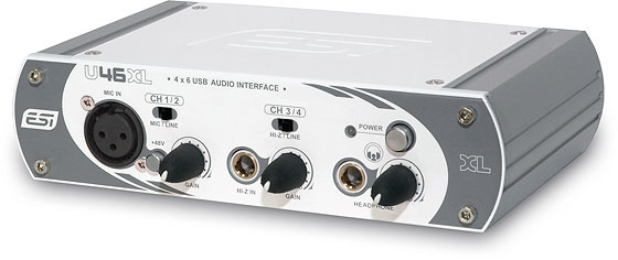 ESI U46 XL AUDIO INTERFACE