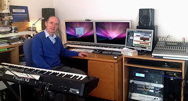 Derek Williams in his studio
