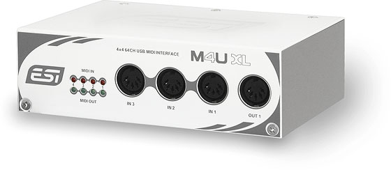 DOWNLOAD DRIVER: ESI M4U XL AUDIO INTERFACE